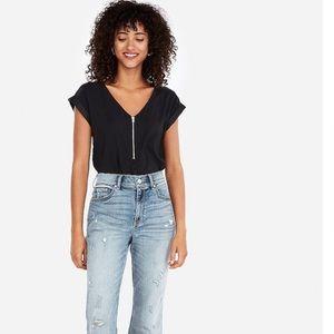 Express zipper top